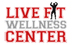 La Habra Boot Camps and Personal Training | Live Fit Wellness Center Logo